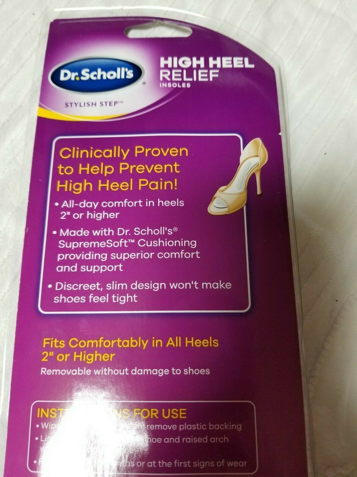 Dr. Scholls Stylish Step High Heel Relief and similar items