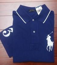 Polo Ralph Lauren Men's Big Pony Royal Blue Cotton Polo Shirt Big & Tall LT - $49.00