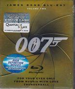 James Bond Blu-Ray Collection - Vol. 2 (Blu-ray Disc, 2008, 3-Disc Set) - $10.99