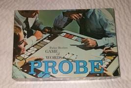 Vintage 1964 PROBE Game Of Words Board Game COMPLETE Parker Bros - $38.84