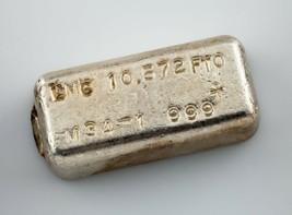 Lmc .999 + Argent Fin 10.572 Troy ML Miche Barre Beau Vintage Pour - $550.97