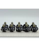 10pcs Medieval Crusader Knights Hospitaller Custom Minifigures Building Toys - $20.99