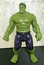 "Hasbro Marvel Avengers Incredible Hulk Talking Doll 11.5"" Posable Good S... - $18.79"