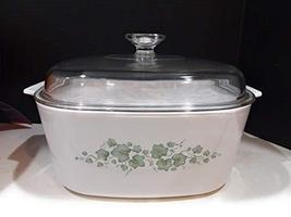 Vintage Corning Ware Callaway Green Ivy Casserole Dish Collectible - $84.14
