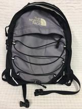 GUC Black/Gray THE NORTH FACE Borealis Backpack waist strap School hiking - $49.95