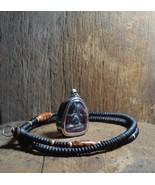Thai Lucky Gift Thailand Buddha Clay Amulet Prapidta Lp Eiam Lucky Pendants - $48.88