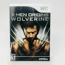 X-Men Origins: Wolverine-Wii game - Complete - $8.80