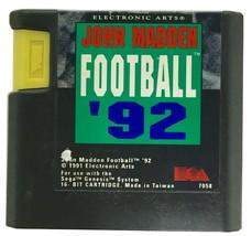 Sega Game Madden football '92 - $5.99