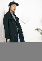 70s vintage trench coat - $51.22