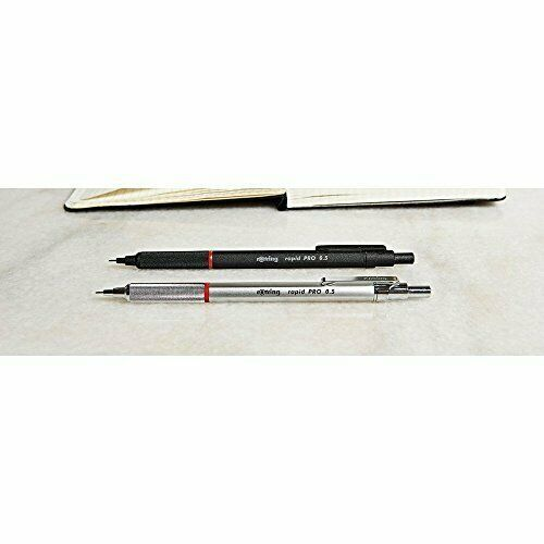 rOtring Rapid Pro Mechanical Pencil, .5mm, Black