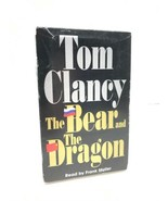 Tom Clancy: The Bear and the Dragon by Tom Clancy (2000, Cassette, Abrid... - $5.45
