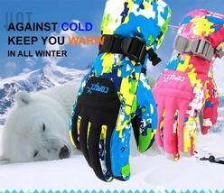 Copozz Ski Gloves Men Girl Children Snowboard Waterproof Warm Thick Snow... - $26.99