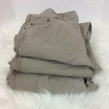 Lot Three Prana Men 36x32 Bronson Pant Canvas Organic Cotton Hiking Outd... - $84.11