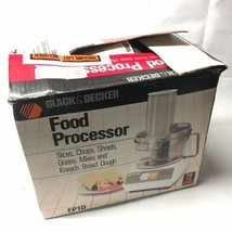 Black & Decker Electric Food Processor FP1D Slicer Chopper Shredder Open... - $79.19