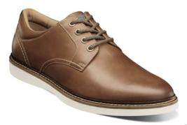 Nunn Bush Ridgetop Plain Toe Oxford Shoes Tan Multi  Leather Casual  84823-238 - $84.60