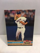 Topps 1991 Stadium Club Charter Member Nolan Ryan A No Hitter Baseball Card - $2.99
