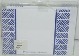 Rosanne Beck 2110954N Folded Note Grad Cap Cards Envelopes Blank Pkg 10 Navy image 3