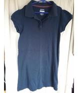 George Girl's Dark Navy School Uniform Dress with Short Sleeves Size XL ... - $1.00