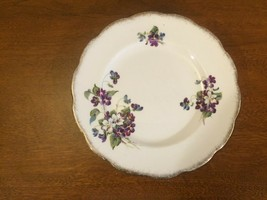"Violets for Love Royal Albert Bone China England Plate 7 1/2""  - $6.92"