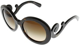 Prada Sunglasses Women Brown Havana Round PR27NS 2AU-6S1 - $197.01