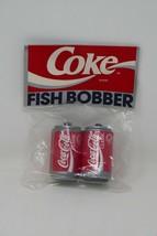 Coca Cola Coke Classic Can Fish Bobbers  - $16.14