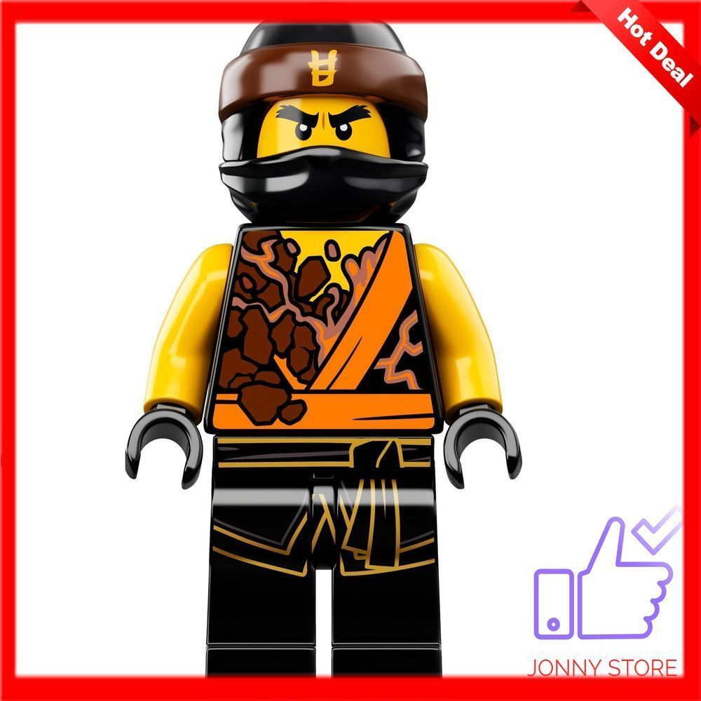 70637 Free Shipping Lego Ninjago Cole Spinjitzu Master