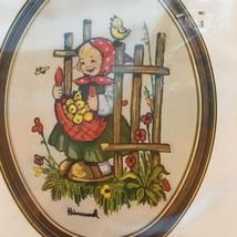 Vintage 1979 Hummel Crewel Stitchery Kit Baby Chicks Girl Paragon Needle... - $11.83