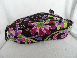 Vera Bradley Retired Travel Toiletry Trip Kit in Purple Punch - $24.50