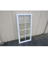 Handcrafted Antique Exterior True Divided Window Type A 50in x 24in Wood - $31.59
