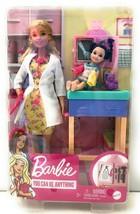 Barbie Careers Pediatrician Doctor Doll Playset You Can Be Anything - $49.49