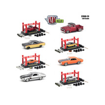 Model Kit 4 pieces Set Release 20 1/64 Diecast Model Cars by M2 Machines... - $60.54