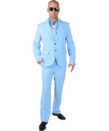 Mr Blue  - Suit + Tie , XS- XXL - $49.35