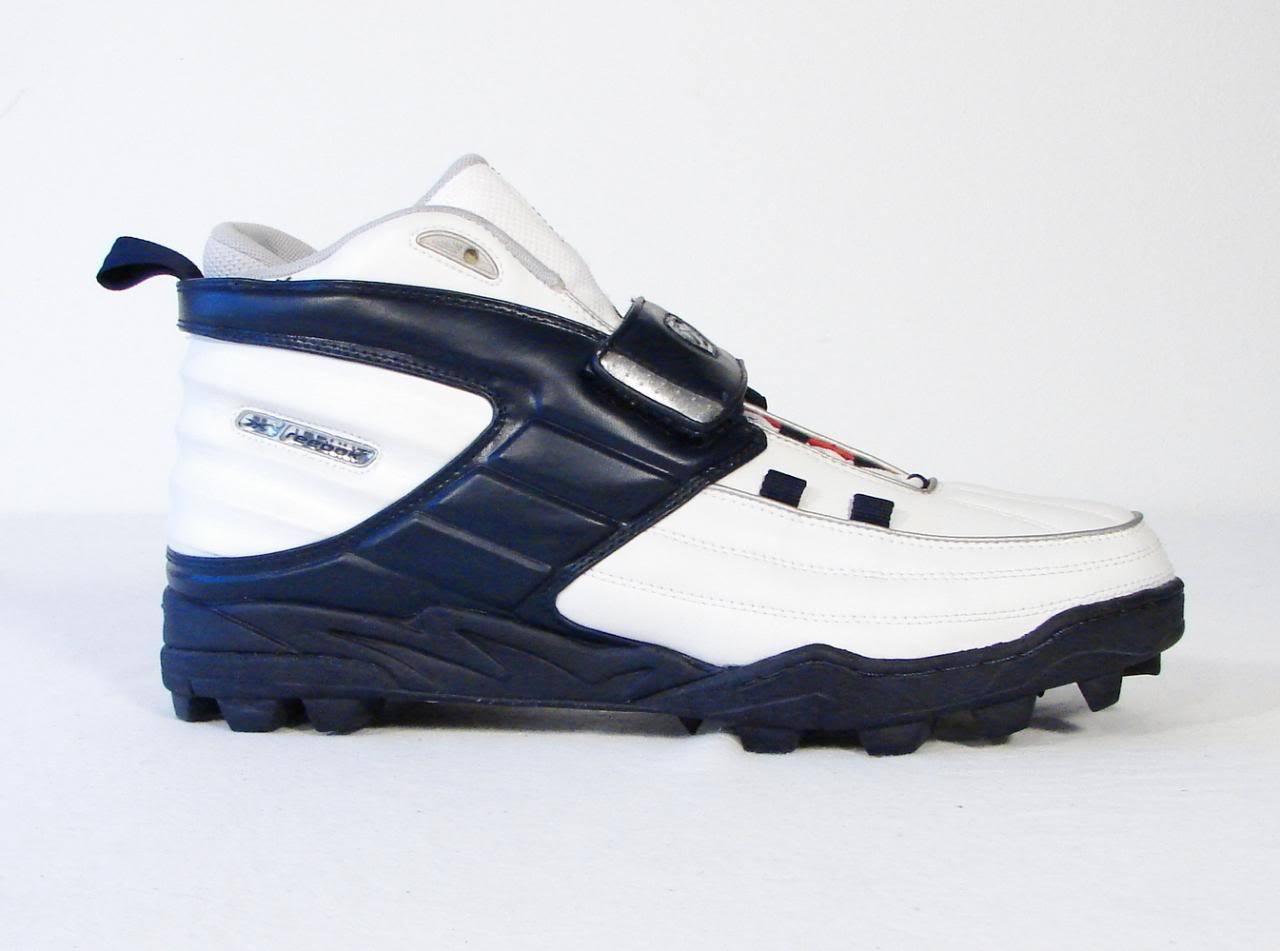 Reebok DMX NFL Equipment White & Blue and 50 similar items