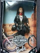 Harley Davidson Barbie Doll Rare Collectors Edition1998 Mattel Retired In Box - $45.30