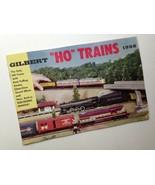 Vintage GILBERT HO MODEL RAILROADS TRAINS 1956 Catalog EXC Condition - $39.55