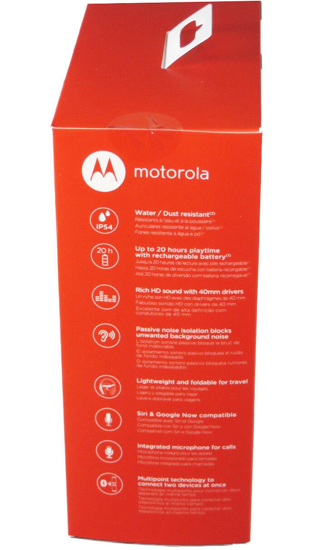 Motorola SH013 BK Pulse Escape + Wireless Over-Ear Headphones Bluetooth Sealed