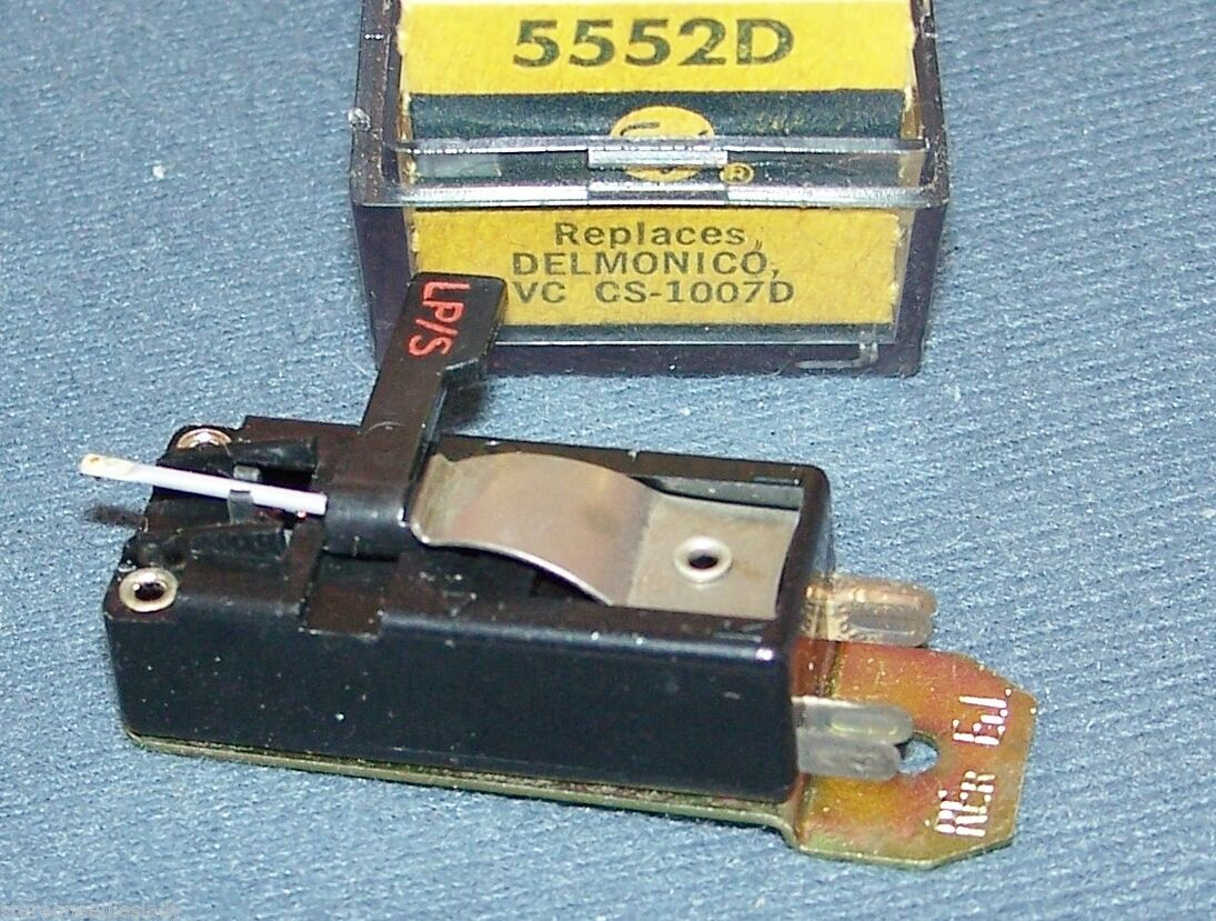 Electro-Voice EV 5552D CARTRIDGE for JVC CS-1007 1006 CS-1007D Delmonico .5 VOLT
