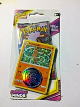 Pokemon Unified Minds Blister Pack with promo, coin, 1 pack of cards-Sud... - $5.99