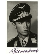 Franz-Josef Beerenbrock signed photo. Luftwaffe Ace.117 Kills. JG-51 - $36.00