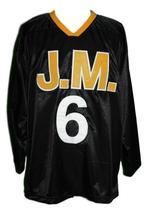 Biggie Smalls Poppa #6 Junior M.A.F.I.A. Hockey Jersey New Black Any Size image 3