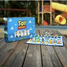 New Toy Story Chess Set Collector's Edition Board Game Pixar Fast Shipping Ltd - $54.40