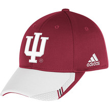 Adidas NCAA College INDIANA HOOSIERS Football Curved Hat Cap Size L/XL - $20.00