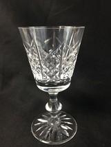 """Excellent Edinburgh Scottish Crystal Highland 5 3/8"""" Wine Goblet Signed - $19.99"""