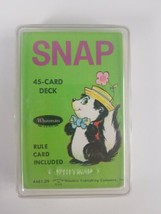 Vtg 1975 #4461 Whitman SNAP Card Game Western Publishing Complete - $23.36