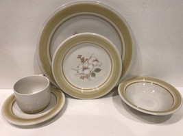 Impressions Daniele Country Day Stoneware 5 Pc. Place Setting Set For 1 ... - $39.59