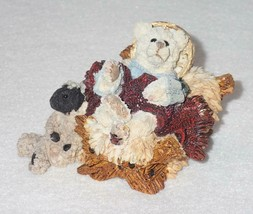 Boyd Bearstone Resin Bears Baldwin As The Child Nativity Figurine #2403 9E - $8.56
