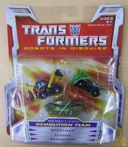 Hasbro Transformers 0653569206453 Demolition Team Robot Soft Vinyl Doll - $151.67