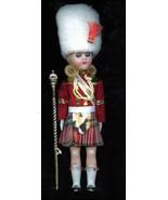 """Old Sleepy Eyed Scottish Female Majorette Guard 8"""" Tall Scott Girl Doll ... - $9.99"""