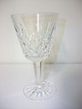 """WATERFORD LISMORE CRYSTAL GLASS STEMMED CLARET WINE 5 7/8"""" GORGEOUS - $23.36"""