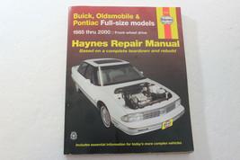 1985 - 2000 Buick Oldsmobile Pontiac Full-Size FWD Models Haynes 19020 Manual L1 - $9.97